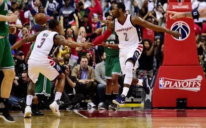 NBA Wizards, 26-0 di parziale e successo su Boston