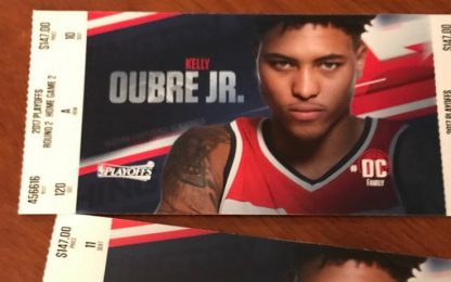 NBA: Oubre salta gara-4, Washington è con lui