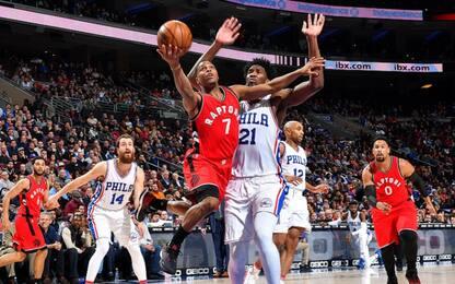 NBA, Kyle Lowry potrebbe andare ai 76ers?