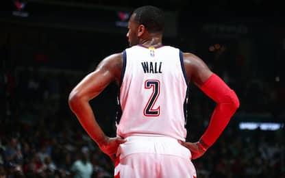NBA, Wall risponde alla provocazione di Boston