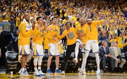 NBA, tutti i dati sulla rimonta di Golden State