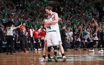 NBA, Olynyk & Thomas guidano Boston in gara-7