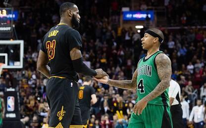 NBA, anteprima playoff: Boston- Cleveland