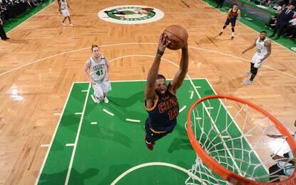 NBA, Boston-Cleveland sempre ad alta tensione