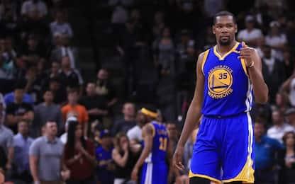 """Durant: """"Sarò sempre un Warrior nel mio cuore"""""""