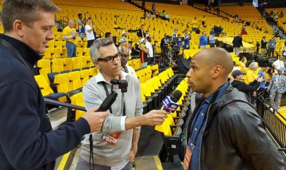 NBA Finals, intervista esclusiva a Thierry Henry