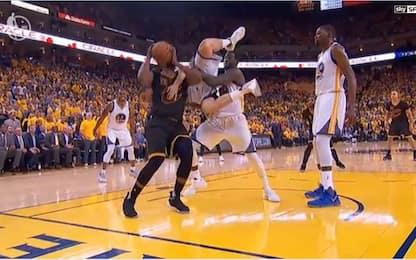 NBA Finals, Green salva la vita a Thompson