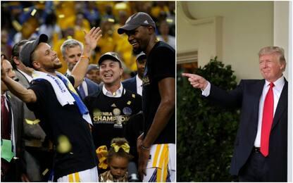 I Golden State Warriors non andranno da Trump?