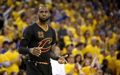 """NBA, parla James: """"Ho dato tutto quello che avevo"""""""