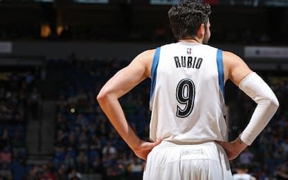 NBA: Rubio ai Jazz, in Minnesota arriva Teague