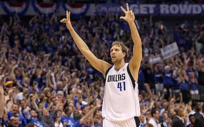 Mercato NBA, Nowitzki fa l'ennesimo sconto ai Mavs