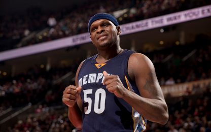 NBA, i Grizzlies ritireranno la maglia di Randolph