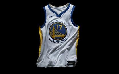 NBA, ecco le nuove divise per la prossima stagione