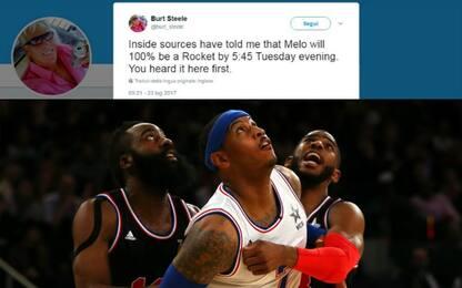 Melo ai Rockets? L'insider lancia il countdown