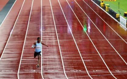 Makwala torna in pista e si qualifica nei 200 m