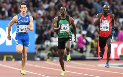 Atletica, niente finale dei 200 metri per Tortu