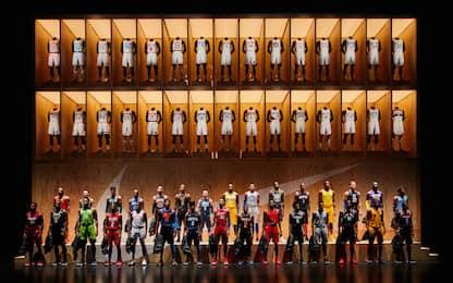 NBA, show a L.A.: presentate tutte le nuove maglie