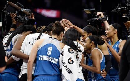 Finals WNBA: Minnesota vince 80-69, si va a gara-5