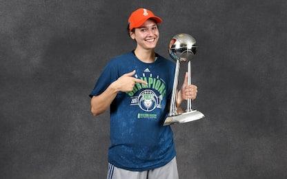 Cecilia Zandalasini vince il titolo WNBA