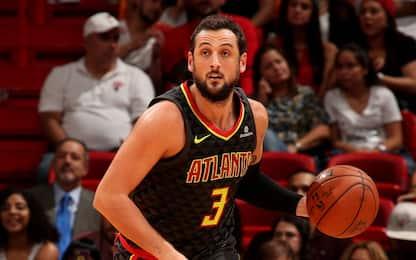 Hawks sconfitti a Miami, 11 punti per Belinelli
