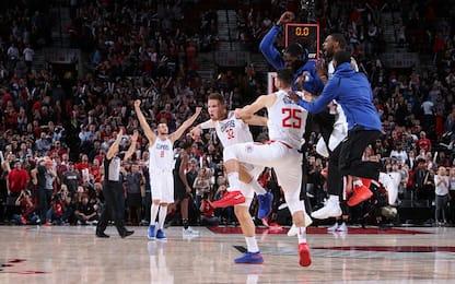 I Clippers vincono sulla sirena, 23 e ko per Beli