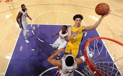 Cade Detroit con i Lakers, vincono Suns e Pacers
