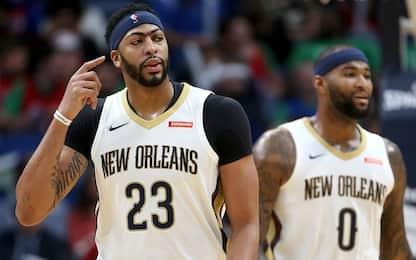 Davis&Cousins, la coppia dei Pelicans funziona