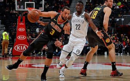 I Nets si prendono la rivincita: Atlanta ancora ko