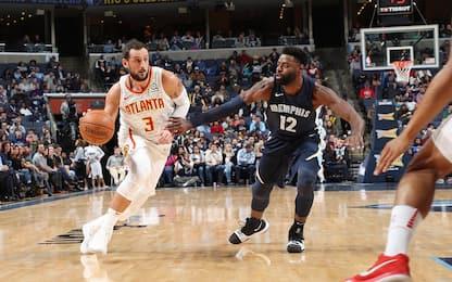 Hawks e Clippers ancora ko: 14 punti per Belinelli