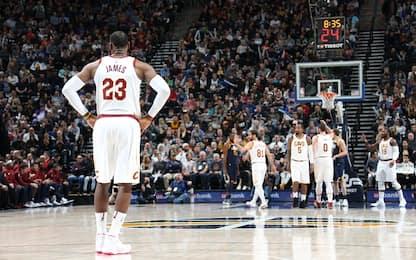 Cavs ko contro i Jazz, Knicks vincenti in volata