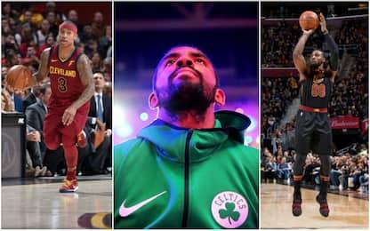 Tutti gli incroci della rivalità Boston-Cleveland
