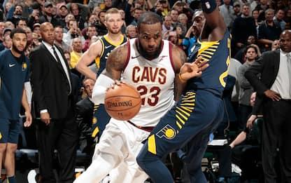 Da +22 al ko: Cavaliers battuti anche dai Pacers