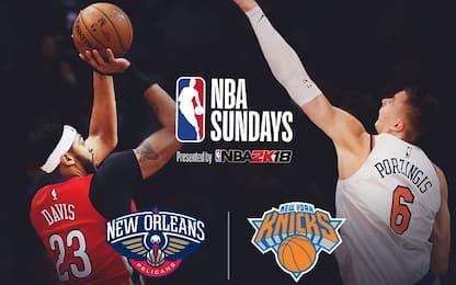 NBA Sundays, Porzingis sfida Davis & Cousins