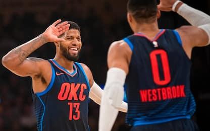 """OKC, George difende Westbrook: """"Tu sai già..."""""""