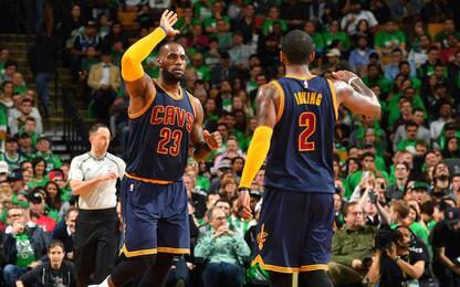 Celtics-Cavs 9 mesi fa: quanto è cambiato