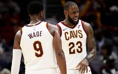 Cleveland cambia volto: Wade torna a Miami