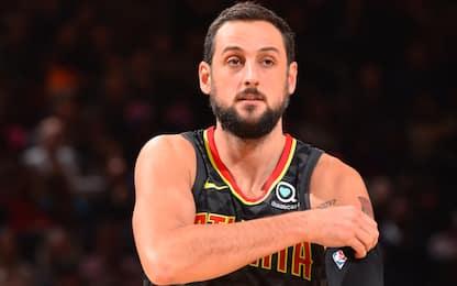 Marco Belinelli giocherà con i Philadelphia 76ers