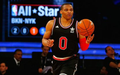 L'All-Star Weekend 2015 incorona Curry e Westbrook