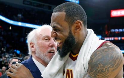 NBA Sundays: super sfida tra Cavs e Spurs!