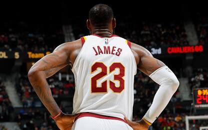 30k-8k-8k per LeBron James: mai nessuno come lui