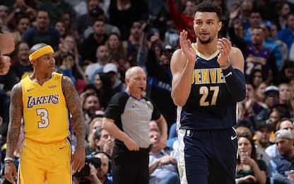 """Murray fa arrabbiare i Lakers: """"Un pagliaccio"""""""
