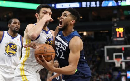 NBA, la decide Towns nel finale: Warriors battuti