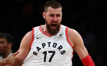 Valanciunas, una delle buone notizie per i Raptors