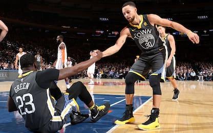 Warriors, Green non è grave. E venerdì torna Curry
