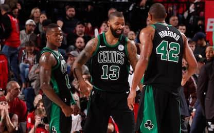Boston espugna Portland, vincono le grandi