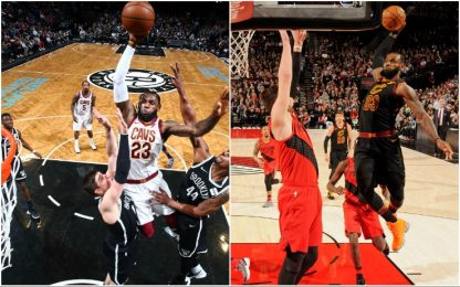 Qual è la schiacciata più bella di LeBron James?