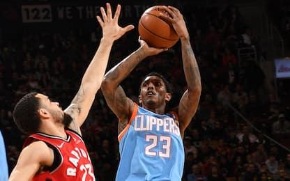 Lou Williams guida i Clippers: sbancata Toronto