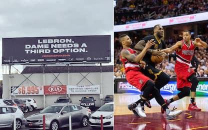 Portland recluta LeBron James... a modo suo