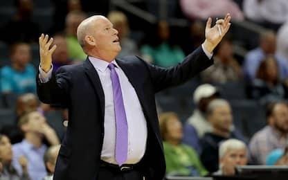 Charlotte cambia coach, licenziato Steve Clifford
