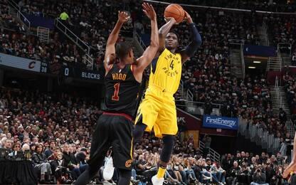 NBA, super Oladipo: Indiana passa a Cleveland